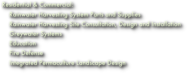 Residential & Commercial: